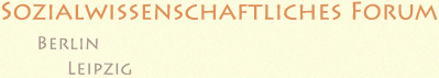 Sozialwissenschaftliches Forum